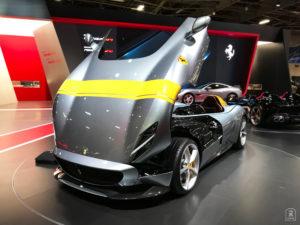 En route - Ferrari Monza SP1 - Salon - Mondial paris Motor Show - 2018 - Parc des expositions - Paris - France - lajaugeauto - La Jauge Auto - Blog automobile & lifestyle