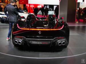 En route - Ferrari Monza SP2 - Salon - Mondial paris Motor Show - 2018 - Parc des expositions - Paris - France - lajaugeauto - La Jauge Auto - Blog automobile & lifestyle