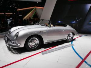 En route - Porsche 356 A1600 Super Speedster - Salon - Mondial paris Motor Show - 2018 - Parc des expositions - Paris - France - lajaugeauto - La Jauge Auto - Blog automobile & lifestyle