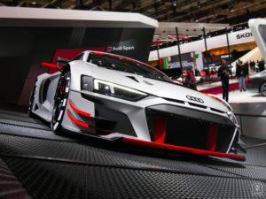 En route - Audi R8 LMS - Salon - Mondial paris Motor Show - 2018 - Parc des expositions - Paris - France - lajaugeauto - La Jauge Auto - Blog automobile & lifestyle