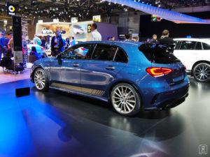 En route - Mercedes Classe A35 AMG - Salon - Mondial paris Motor Show - 2018 - Parc des expositions - Paris - France - lajaugeauto - La Jauge Auto - Blog automobile & lifestyle