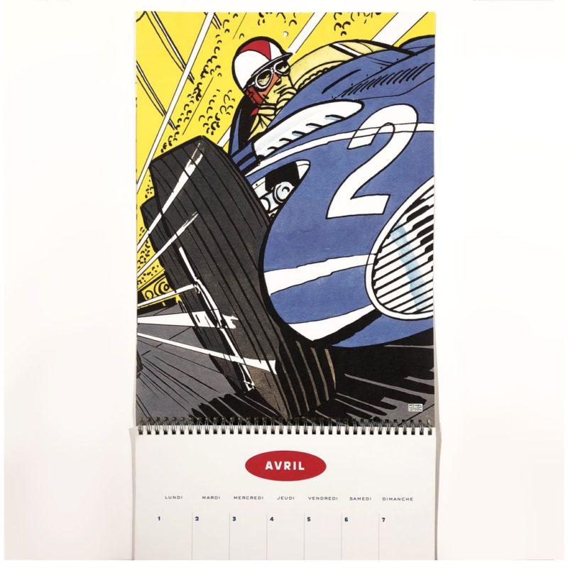 Wish List 2018 - Calendrier Michel Vaillant - La Jauge Auto - Blog automobile & lifestyle