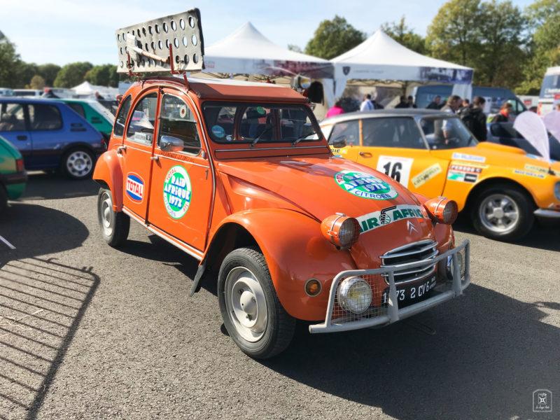 Citroën 2CV - Les Grandes Heures Automobiles - #4 édition - Autodrome Linas Montlhéry - Allemagne - La Jauge Auto - La Jauge Auto - Blog automobile & lifestyle