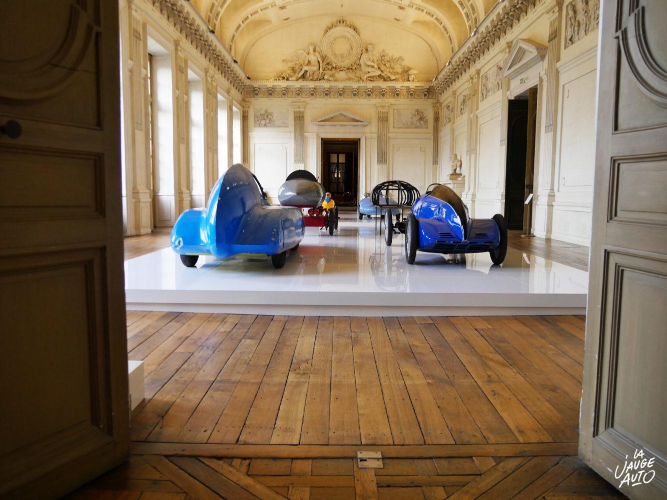 Exposition Concept Car Beauté pure, l'exposition impériale - Château de Compiègne - Blog - La Jauge Auto
